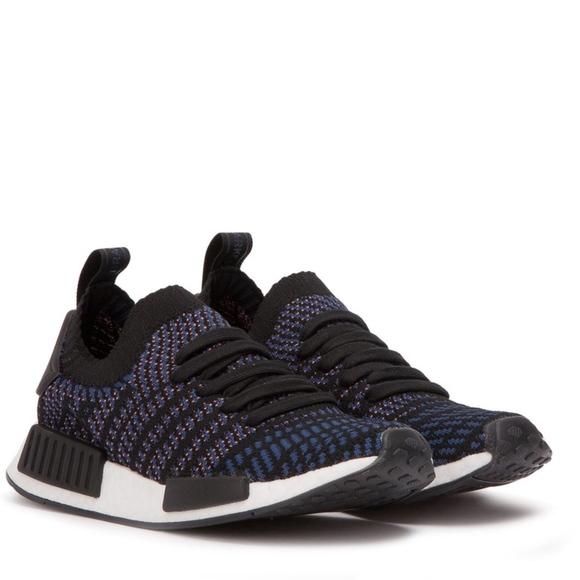 low priced 61d48 d9b81 Adidas NMD R1 STLT Black Boutique